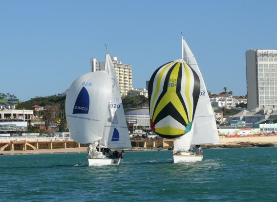 sailing in nelson mandela bay